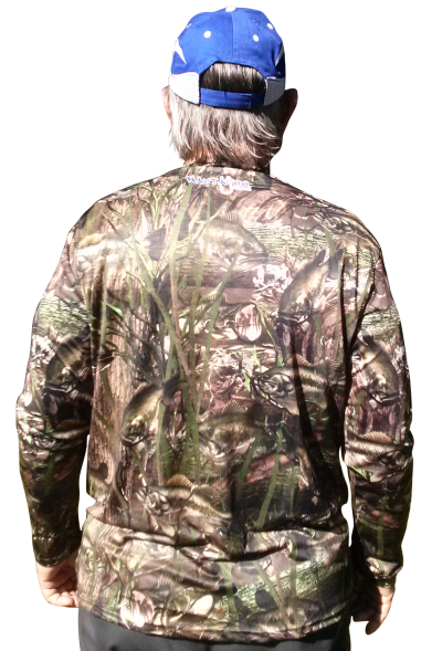 Bass Camo Full Sublimation Custom made apparel